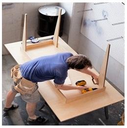 Сборка столов по низким ценам в Челябинске от специалистов