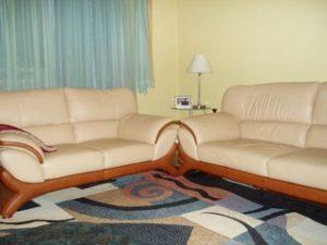 Перетяжка кожаной мебели в Челябинске
