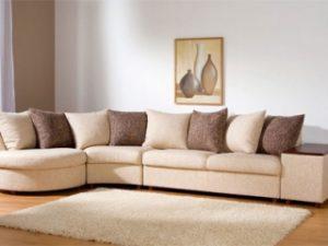 Перетяжка углового дивана на дому в Челябинске